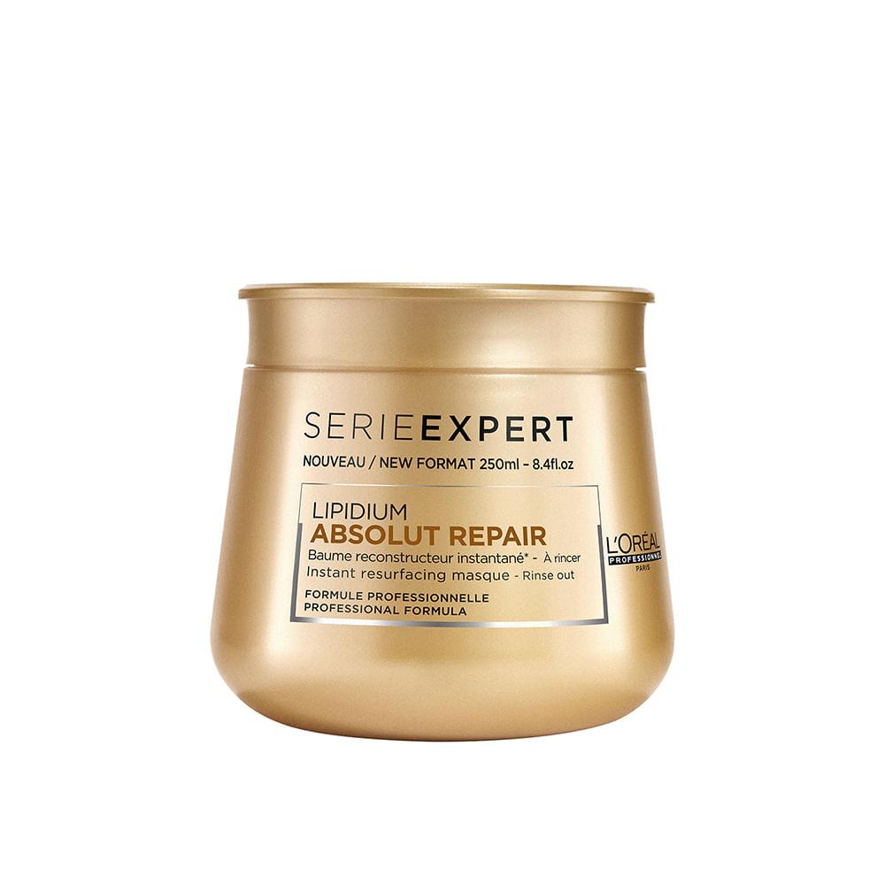 20e3ba1a8 Máscara De Tratamento L'Oréal Professionnel Absolut Repair Lipidium - 250G.  7899706154314; 7899706154314