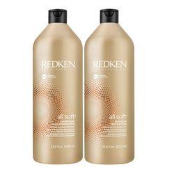 Kit-Profissional-Shampoo---Condicionador-Redken-All-Soft