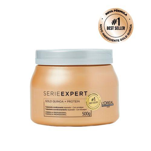 Mascara-Classica-L-Oreal-Professionnel-Absolut-Repair-Light--Gold-Quinoa---Protein-500ml