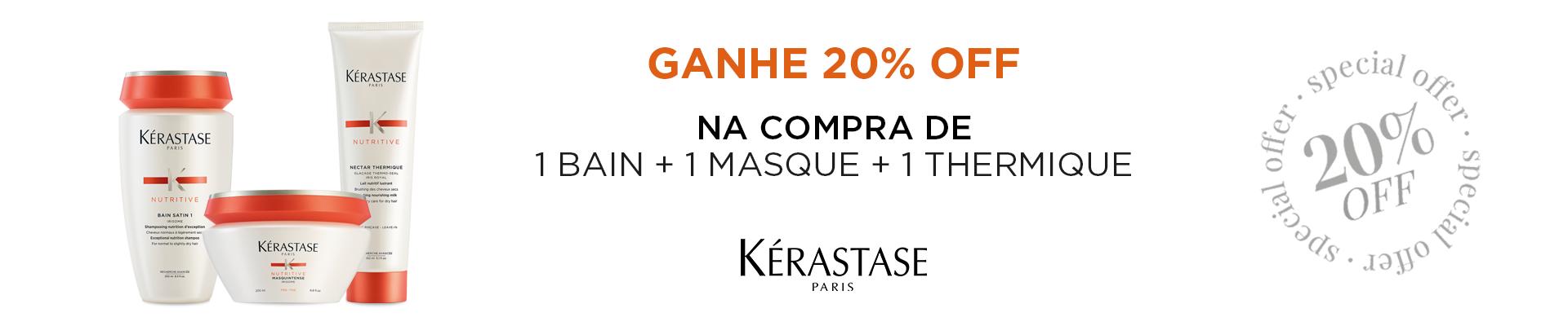 KER | Kits com 20% off