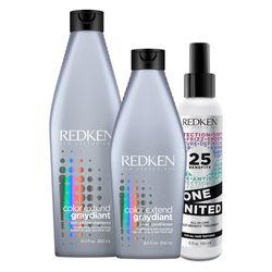 Kit-Redken-Graydiant-Shampoo---Conditioner---One-United