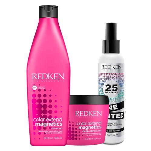 Kit-Redken-Color-Extend-Magnetics-Shampoo---Deep-Atraction-Mask---One-United-